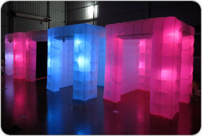 Inflatable Cube Photo Booth Rentals Boston
