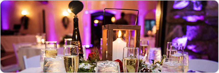 Uplighting Packages and Rates Boston