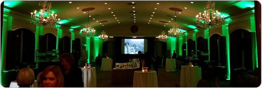 Reception Uplighting Packages Boston MA