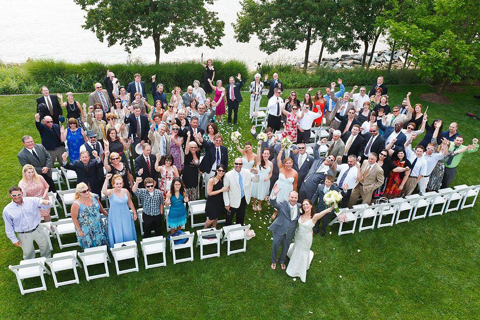 Wedding Drone Photographs Boston